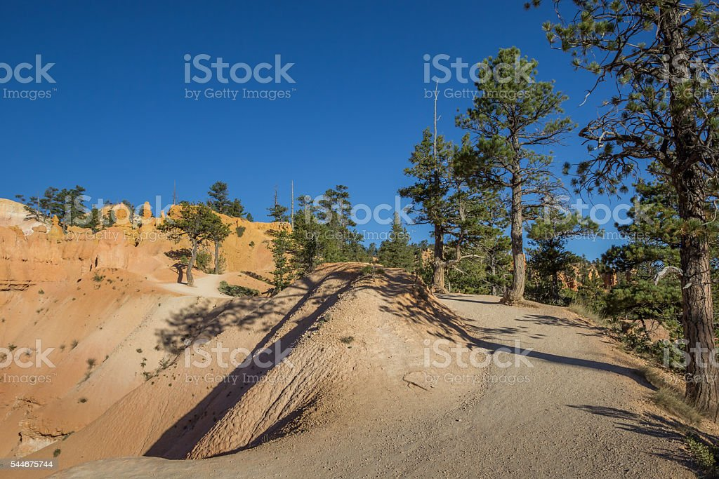 Queens garden trail in Bryce Canyon National Park stock photo