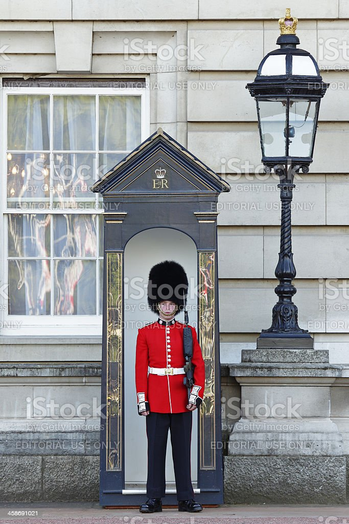 Queen's Guard stock photo
