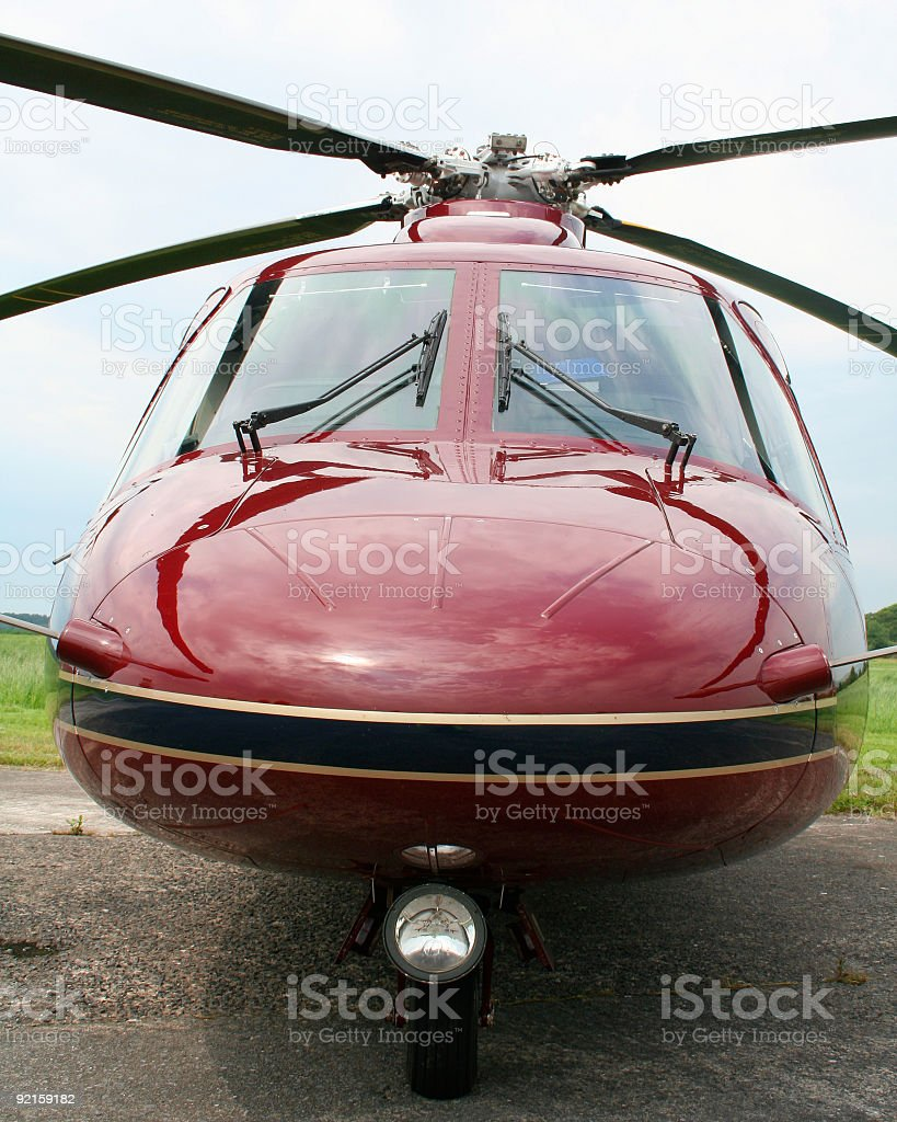 Queen's Heliopter royalty-free stock photo