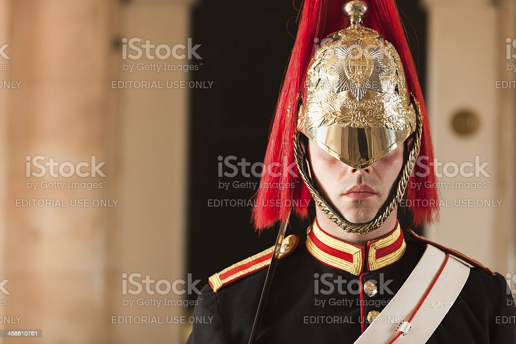 Queen's Life Guard stock photo