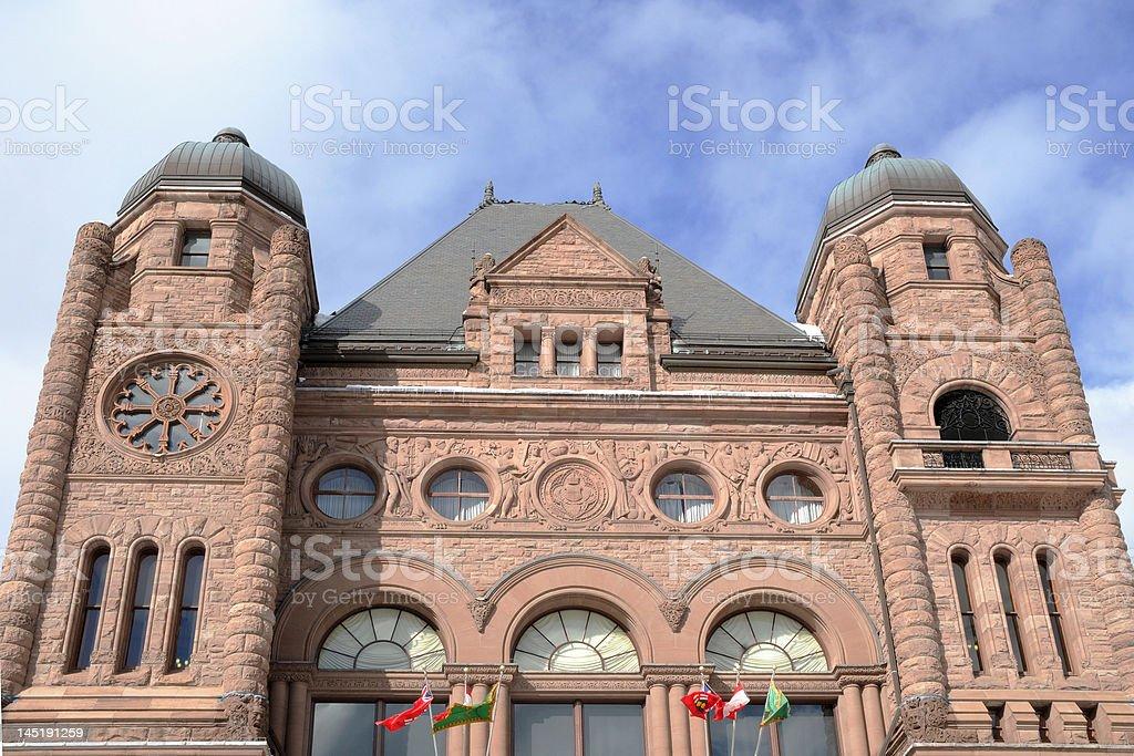 Queen's Park Building stock photo