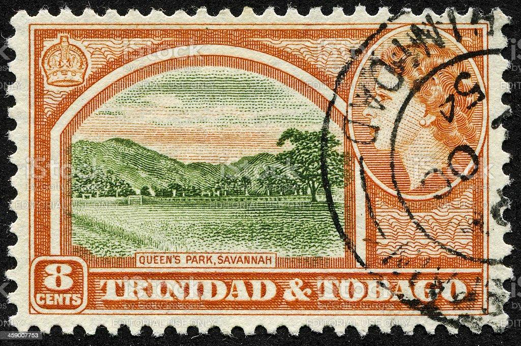 Queen's Park (The Savannah) In Trinidad And Tobago royalty-free stock photo