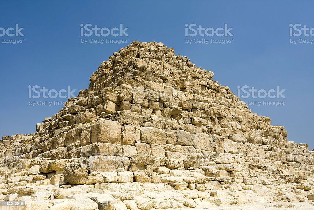 Queen's Pyramid royalty-free stock photo
