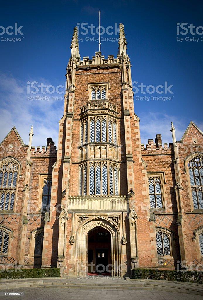 Queen's University, Belfast, Northern Ireland royalty-free stock photo