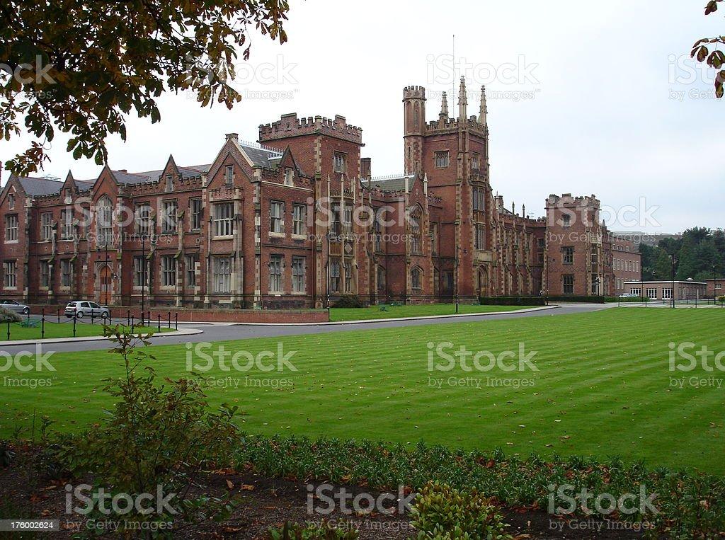 Queens University, Belfast stock photo