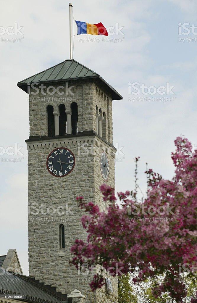 Queen's University - Grant Hall royalty-free stock photo
