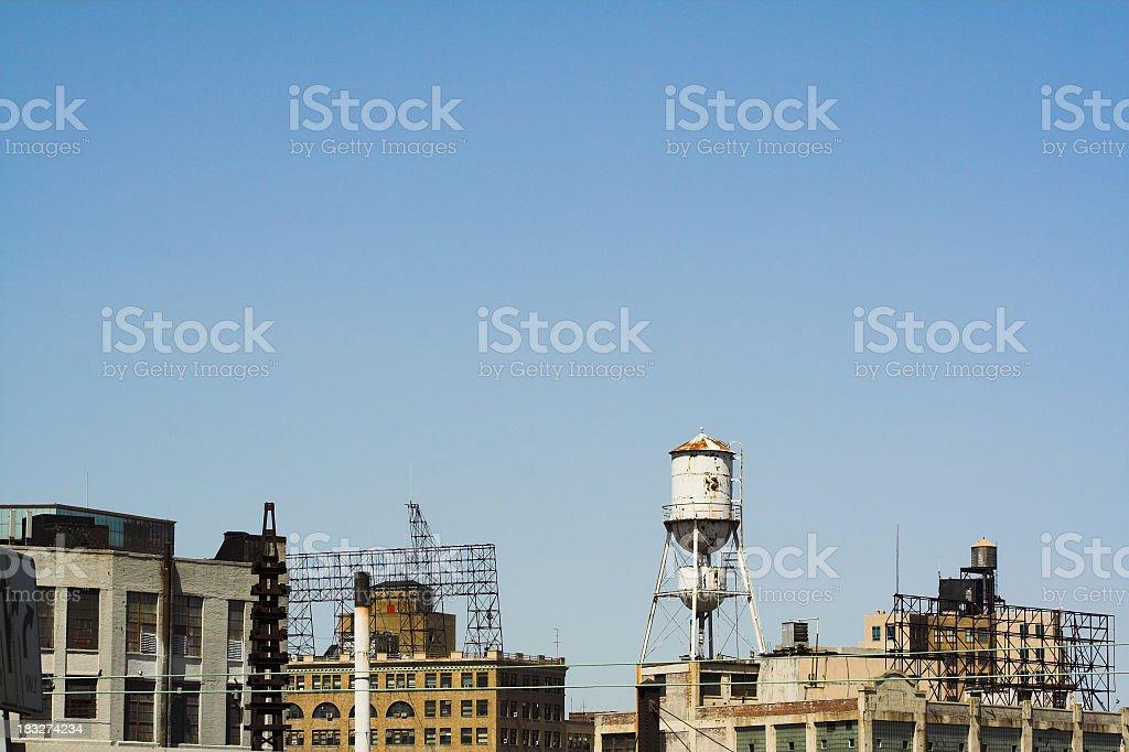 Queens West / Long Island City Skyline stock photo