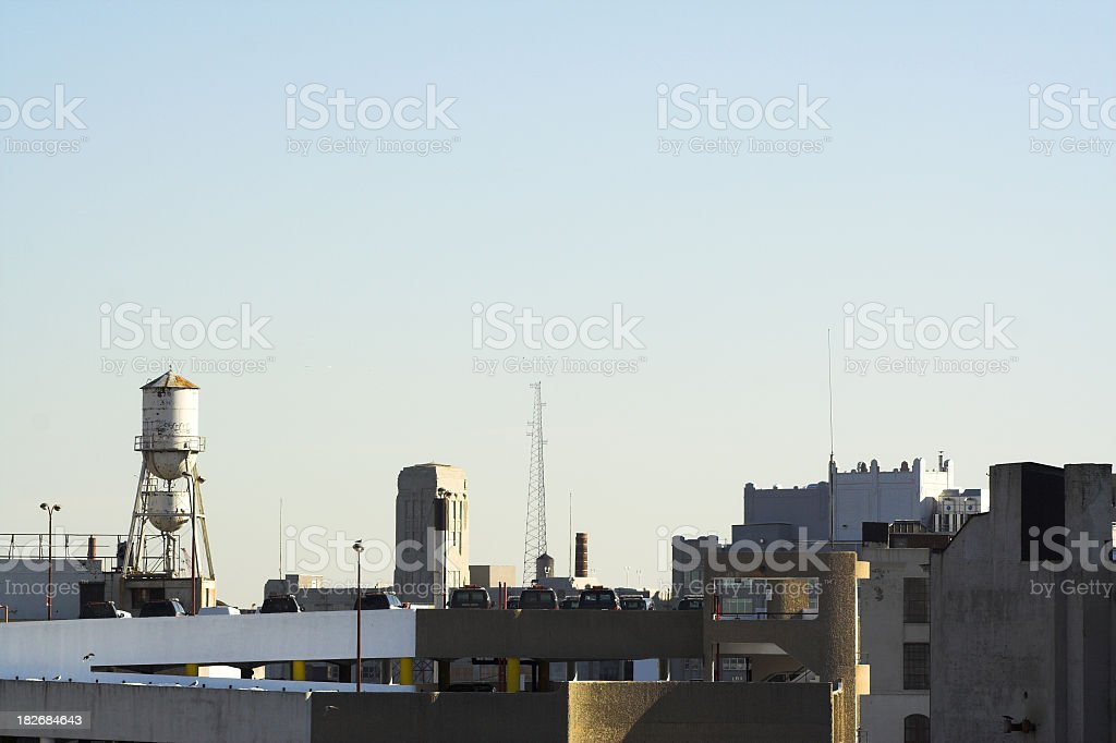 Queens West Rooftop View stock photo