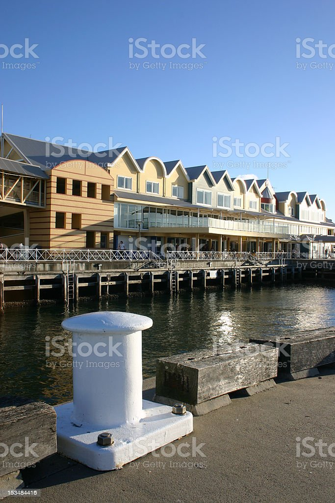 Queens wharf royalty-free stock photo