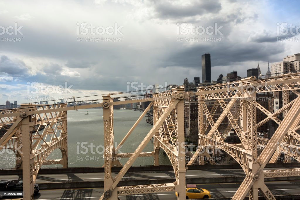 Queensboro Bridge - New York City stock photo