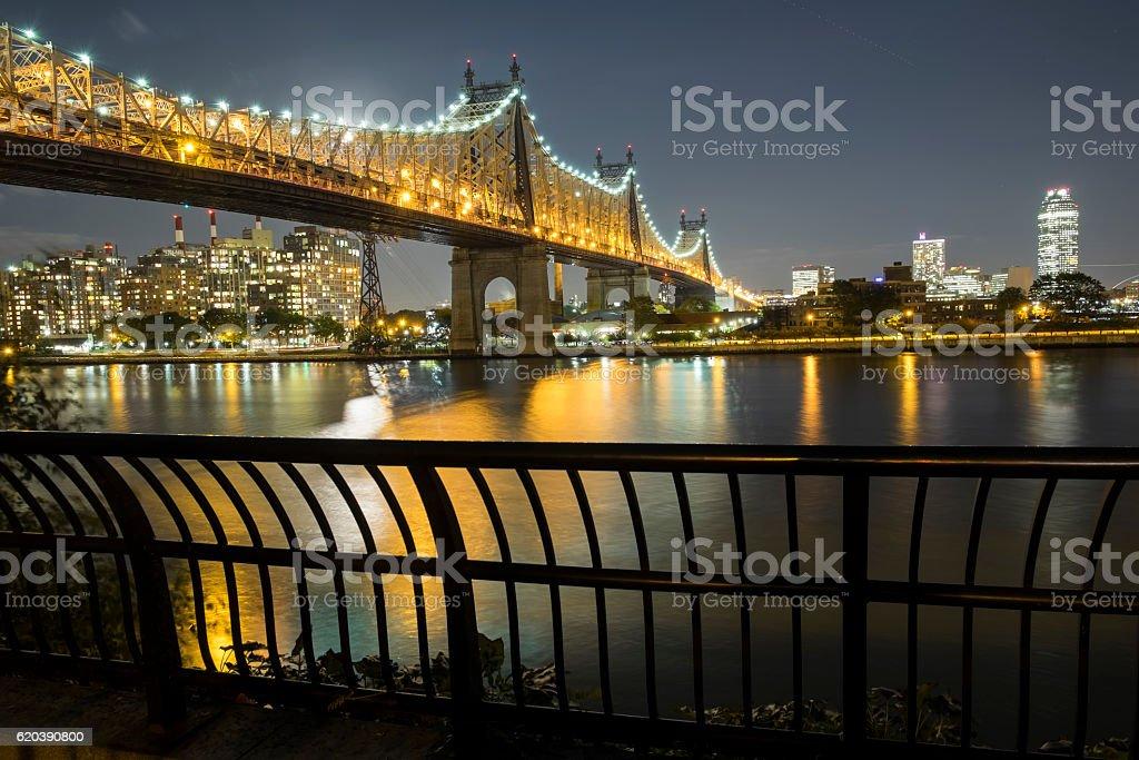 Queensboro Bridge, New York City, USA stock photo