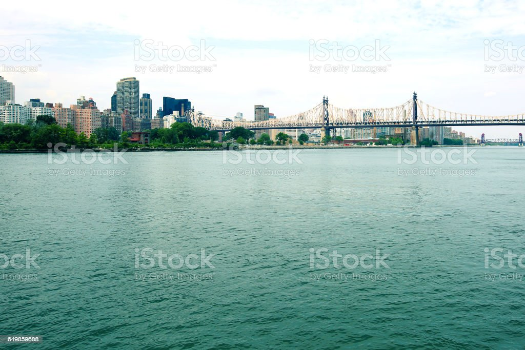 Queensboro Bridge NYC stock photo