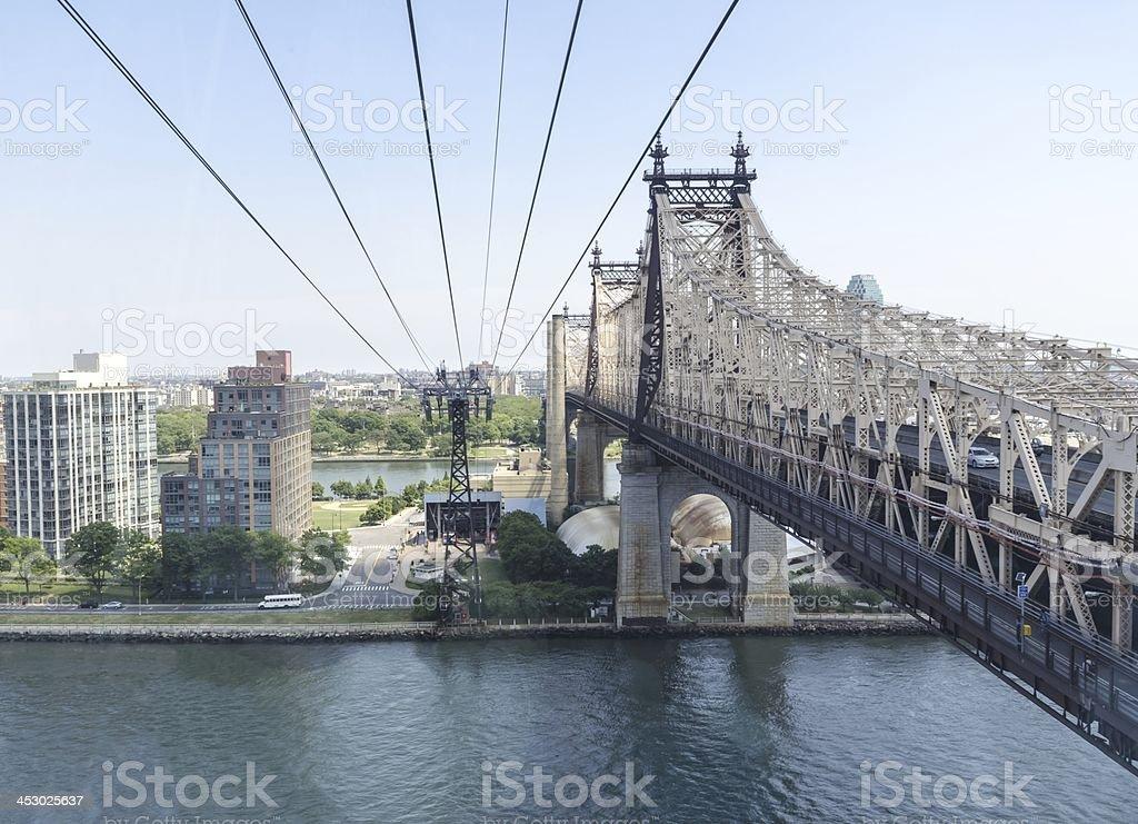 Queensboro bridge royalty-free stock photo