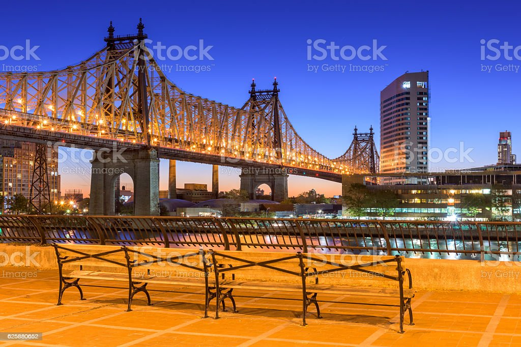 Queensboro Bridge stock photo