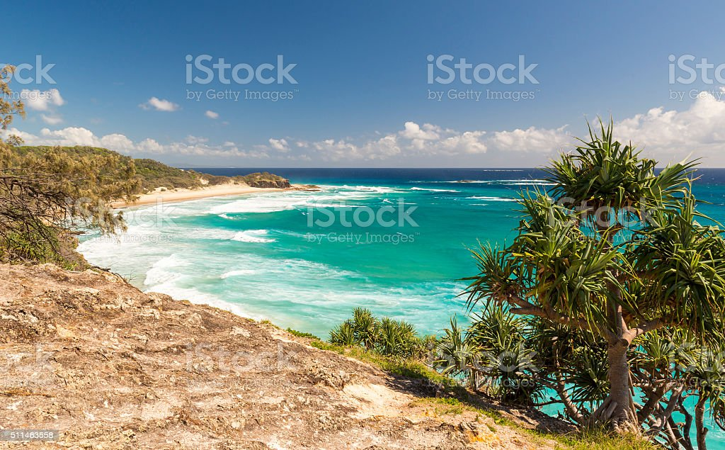 Queensland Coastline stock photo