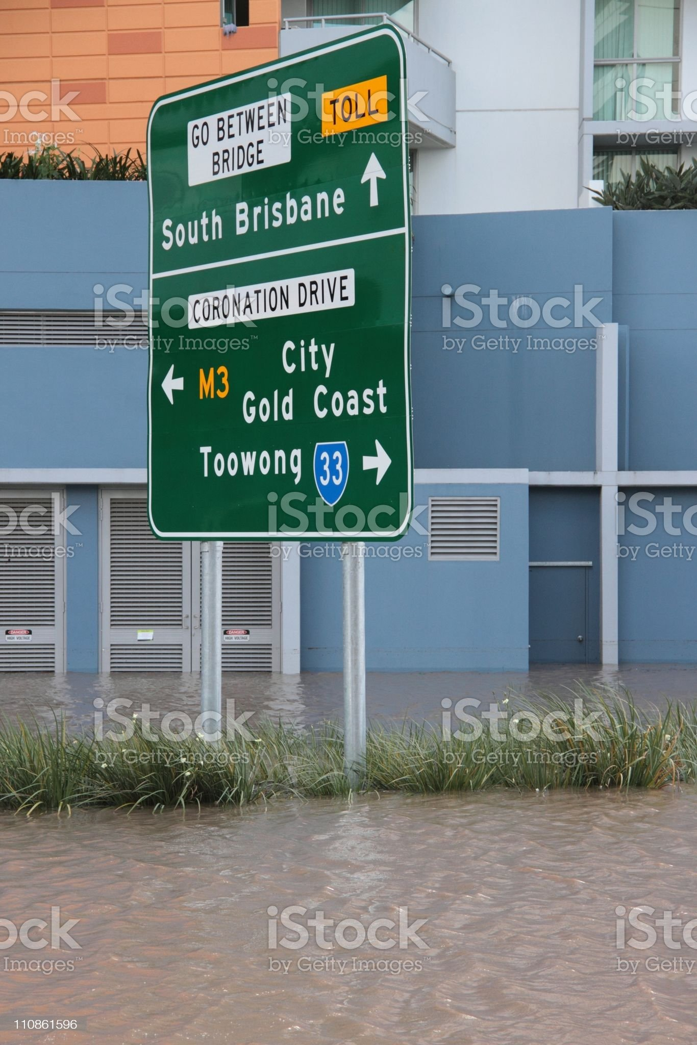 queensland flood royalty-free stock photo