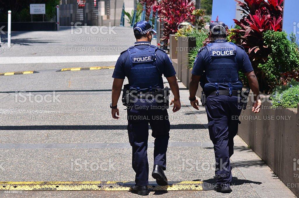 Queensland Police Service (QPS) -Australia stock photo