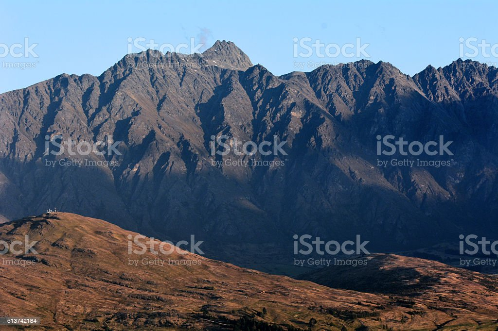 Queenstown New Zealand stock photo