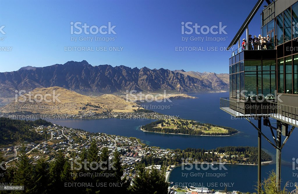 Queenstown - New Zealand stock photo