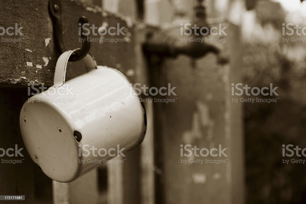 Quench your thirst royalty-free stock photo