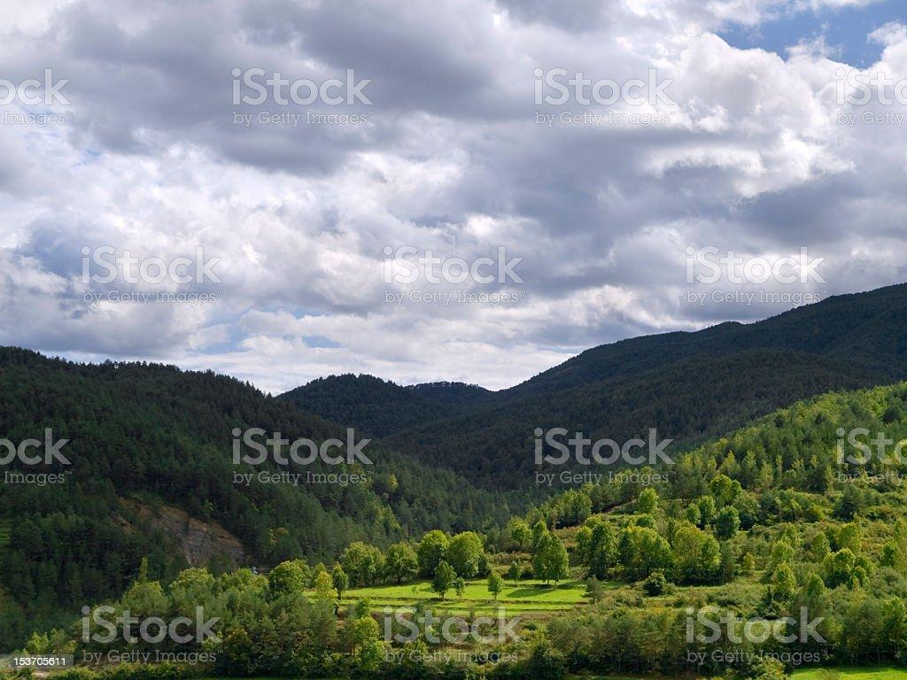Queralbs's Valley stock photo