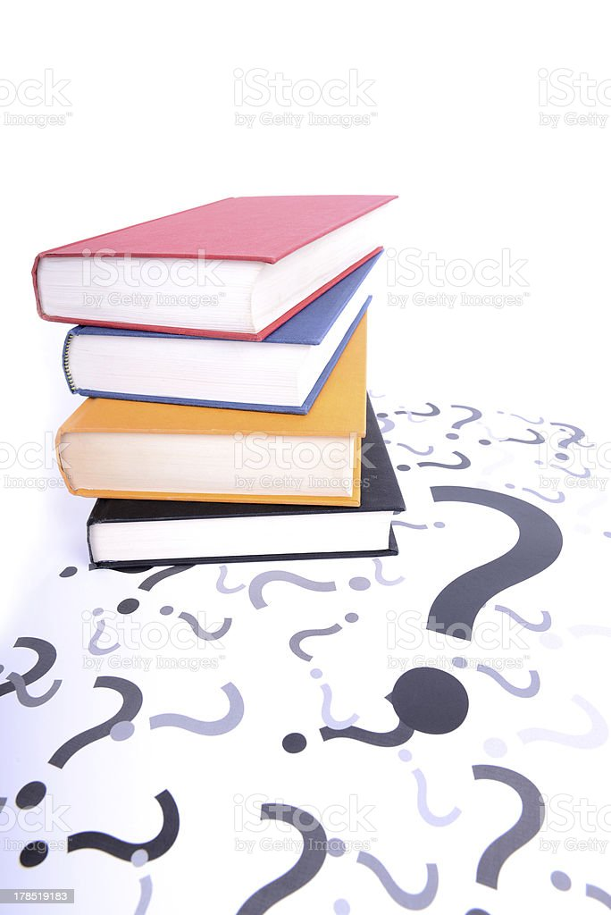 question books royalty-free stock photo
