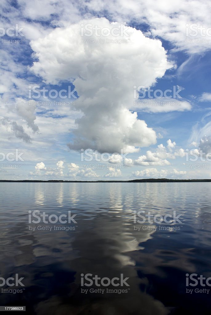 Question Cloude stock photo