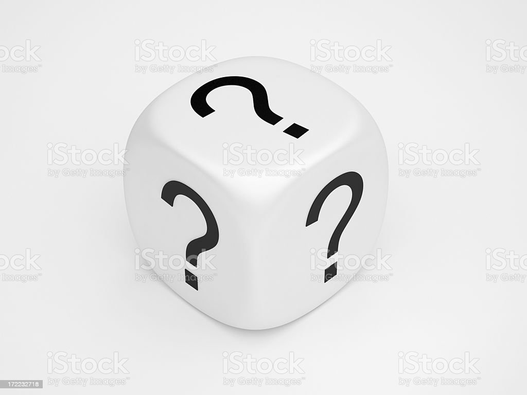 Question Mark Concept royalty-free stock photo