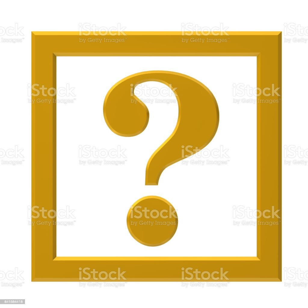 question mark gold yellow 3d interrogation point punctuation mark question icon query symbol asking button isolated on white stock photo