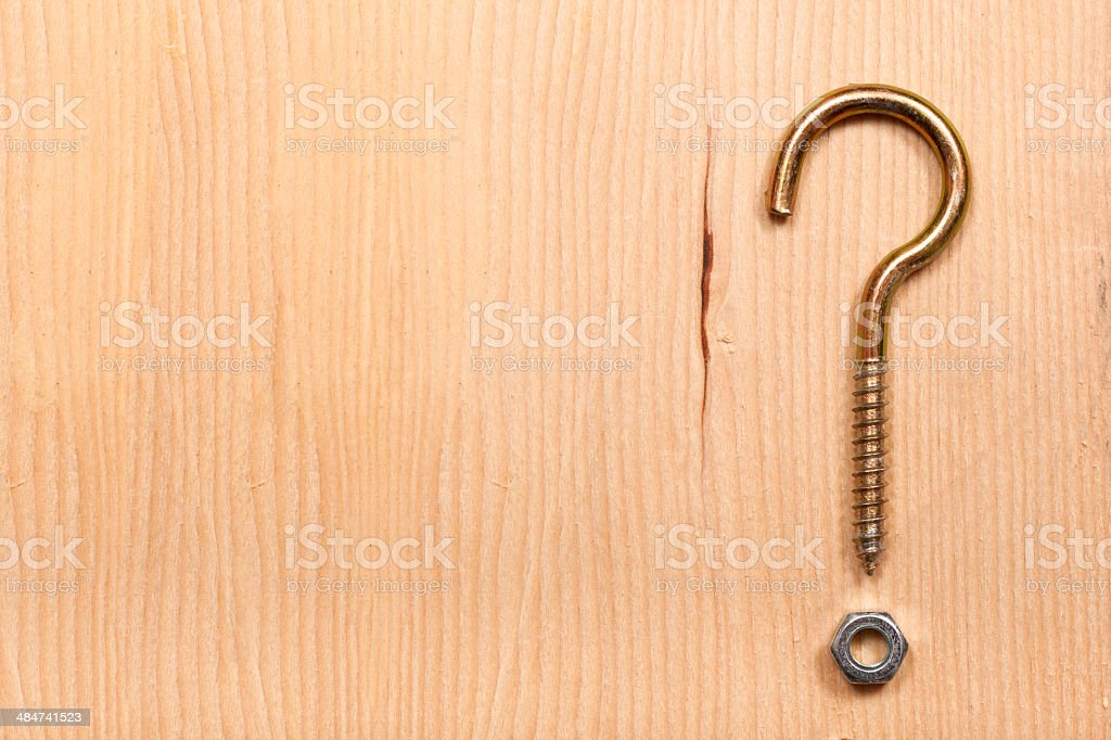 Question Mark stock photo