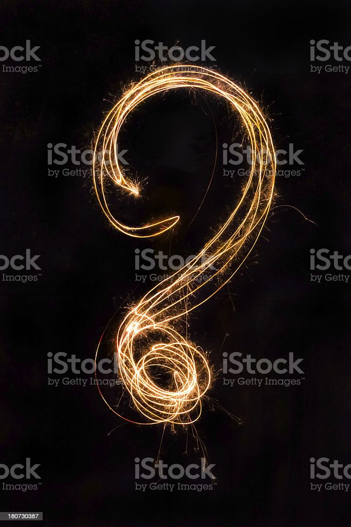 question sign royalty-free stock photo