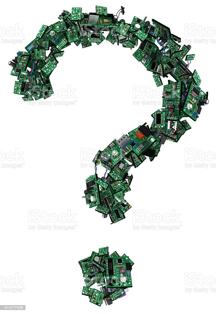 Circuits Question stock photo