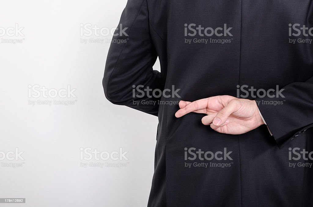 Questionable Ethics stock photo