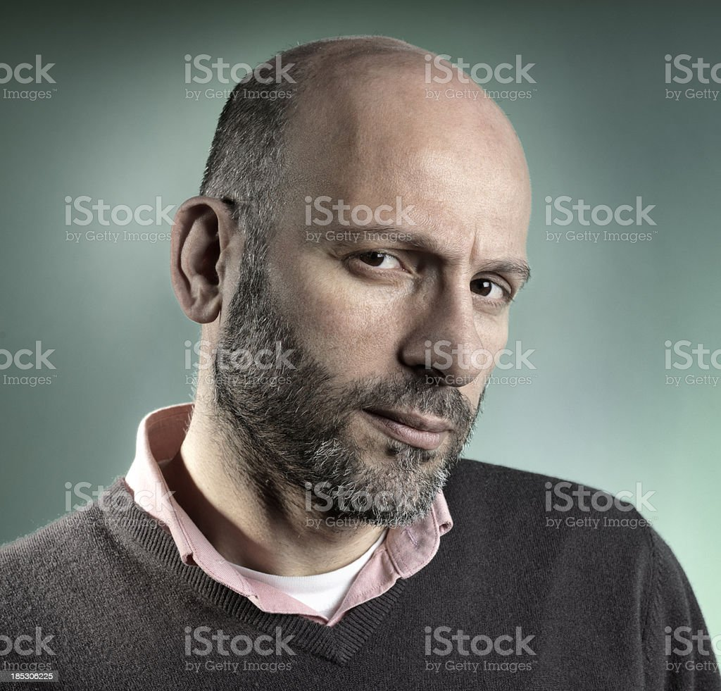 Questioning Expression stock photo