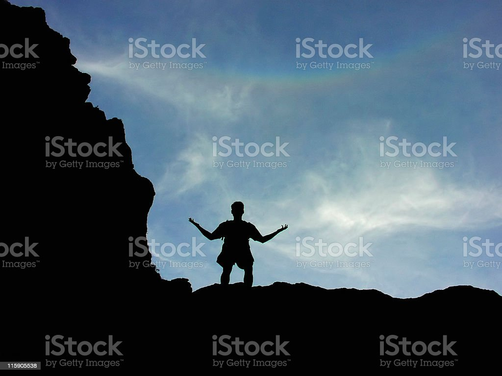 Questioning The World stock photo