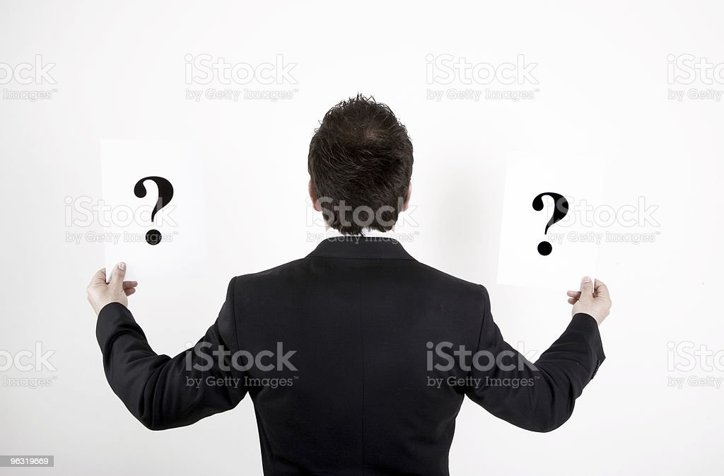 Questions royalty-free stock photo