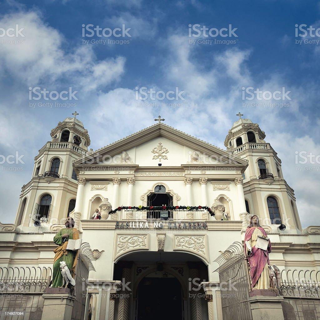 Quiapo Church, Manila royalty-free stock photo