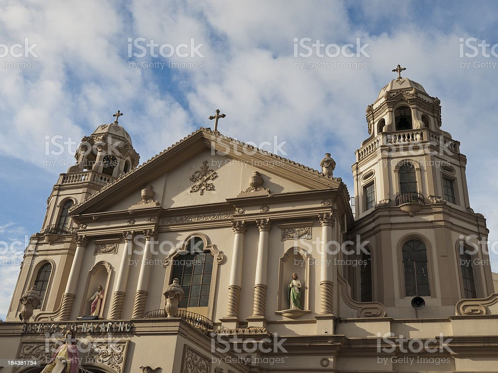 Quiapo Church royalty-free stock photo