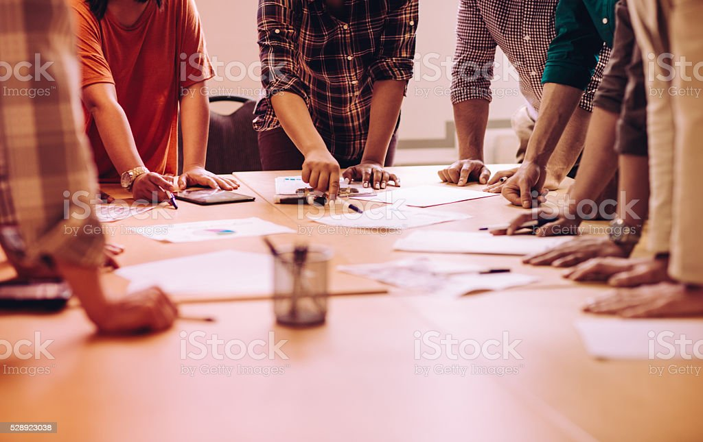 Quick planning stock photo