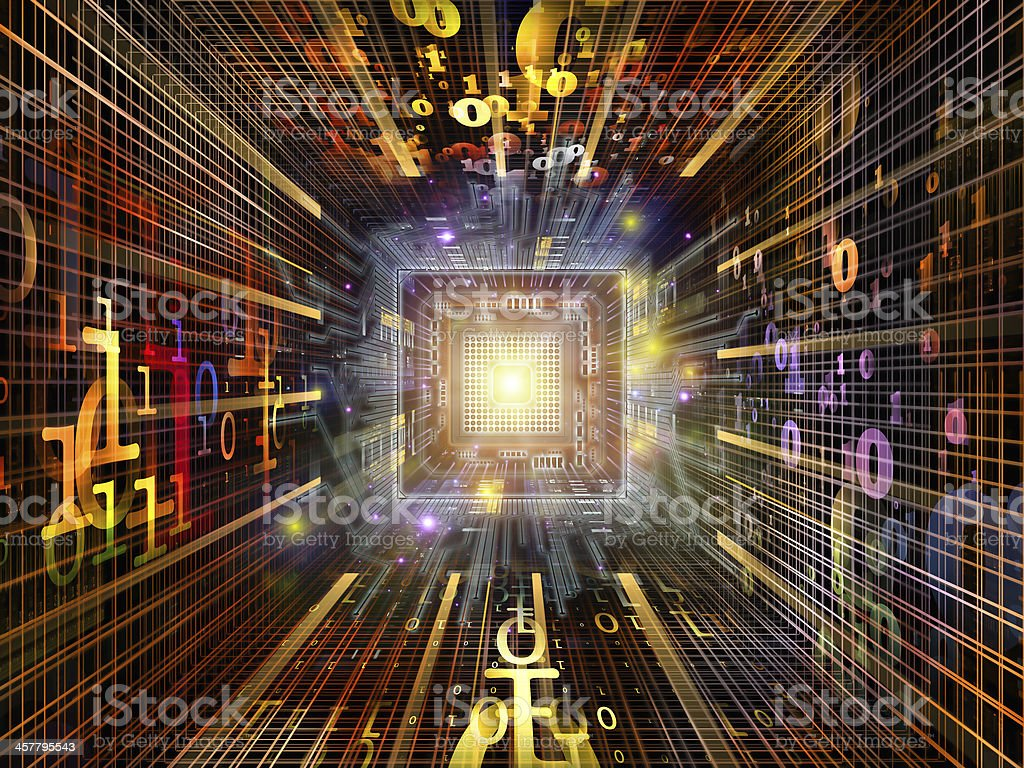 Quickening of Numbers royalty-free stock photo