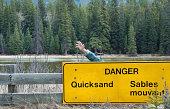 Quicksand Danger  ... Help