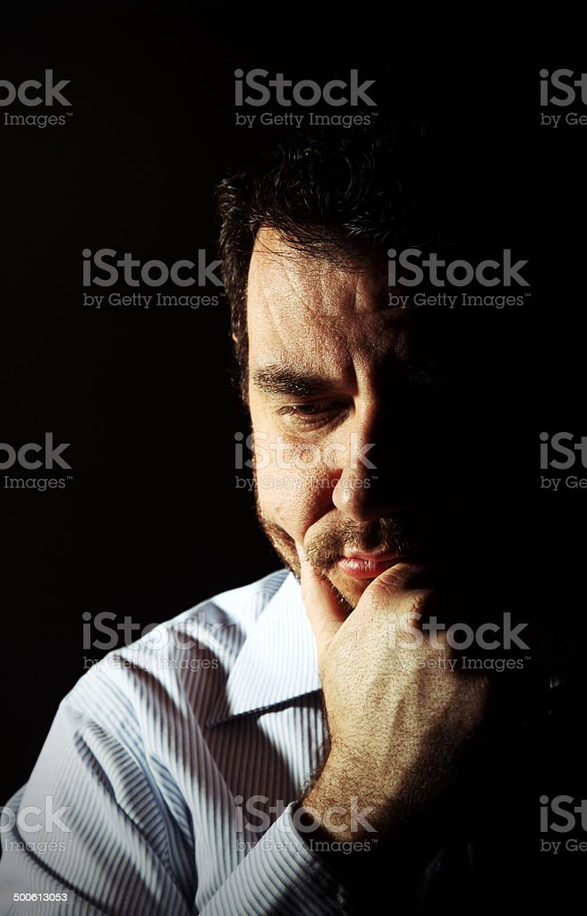 Quiet Contemplation royalty-free stock photo