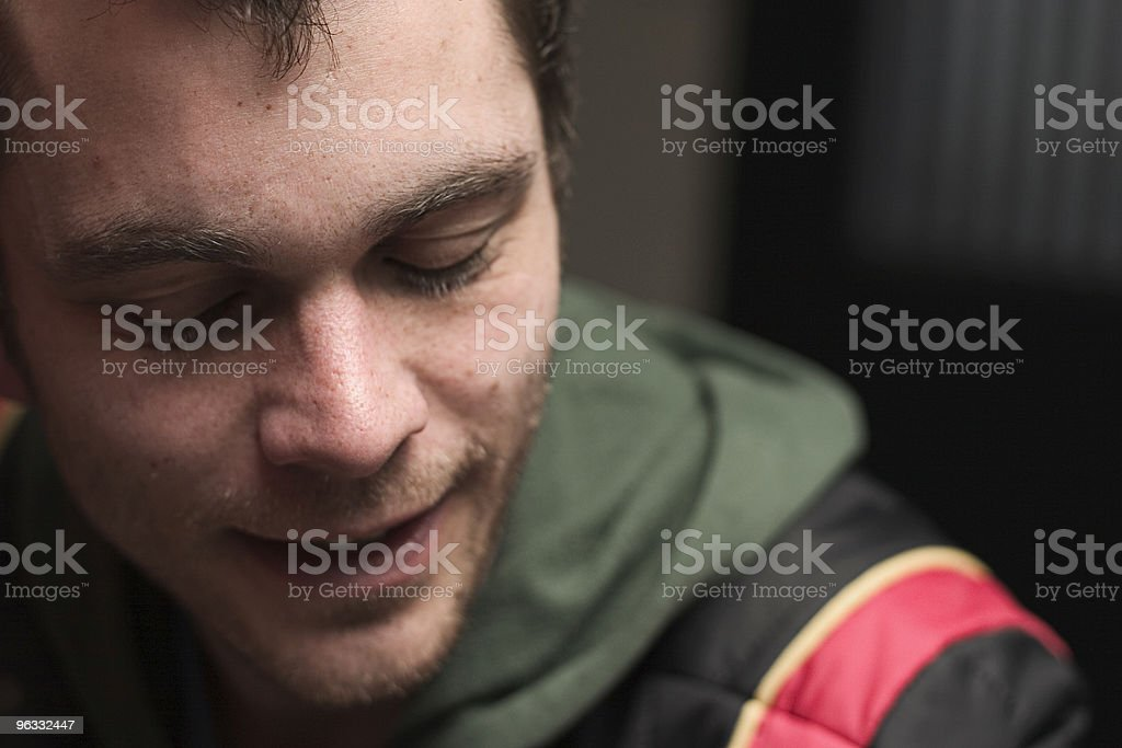 Quiet contentment royalty-free stock photo