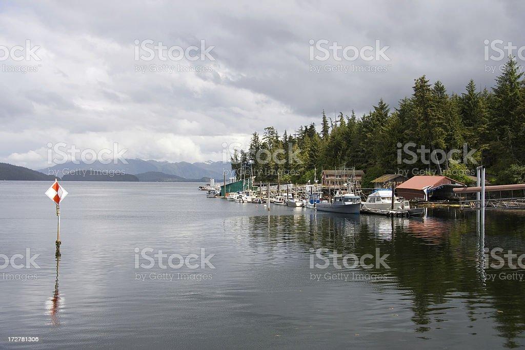 Quiet Harbor stock photo