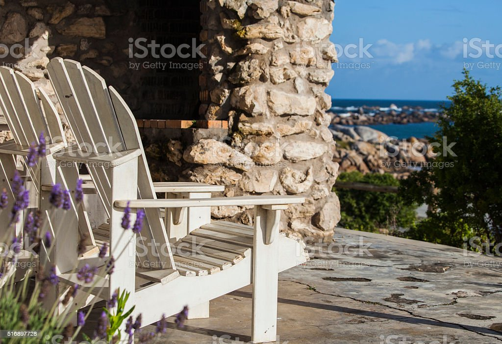 Quiet Lavender Rest stock photo