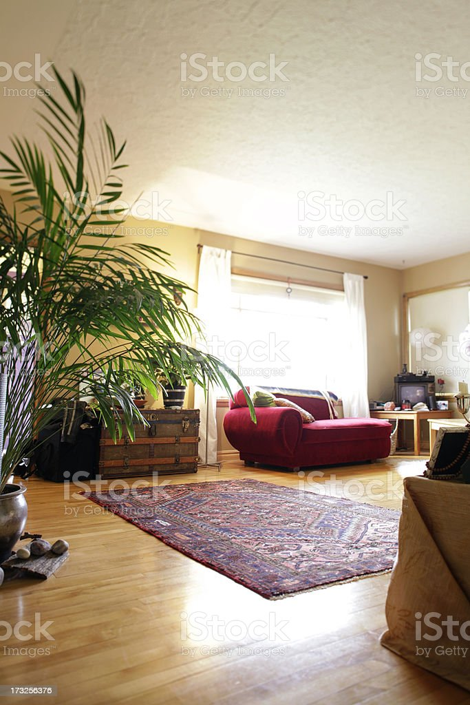 Quiet Living Room royalty-free stock photo