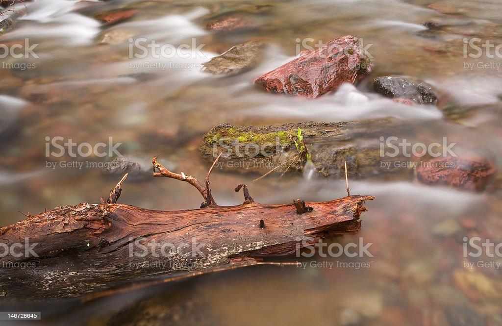 Quiet stream stock photo