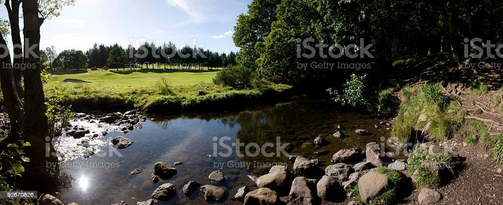 Quiet Stream royalty-free stock photo