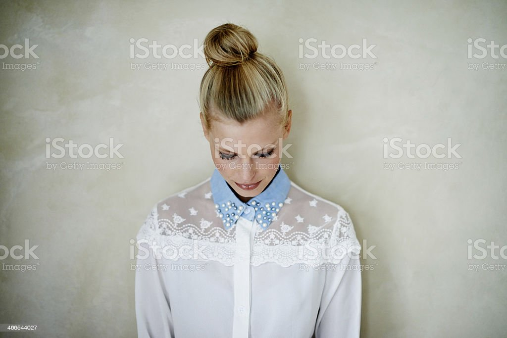 Quiet style stock photo