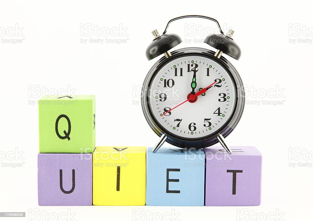 Quiet Time stock photo